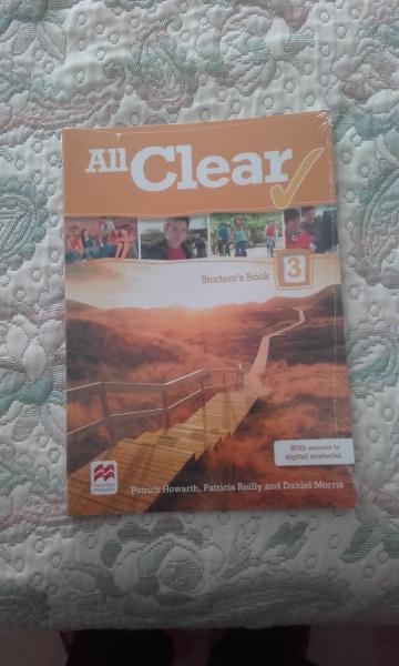 VENDO ALL CLEAR 3º ESO STUDENT BOOK, DE EDITORIAL