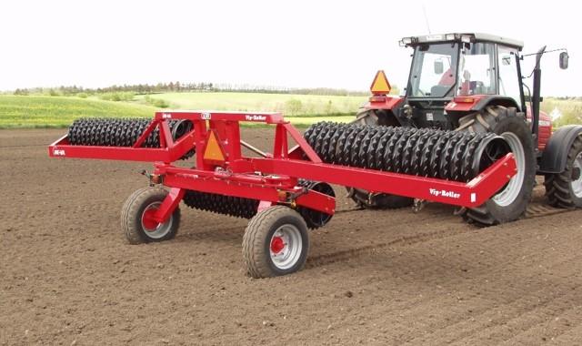 El rodillo Agrícola modelo VIP-ROLLER de HE-VA tiene