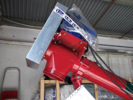 Sinfin electrico móvil para granos y abonos POM 5m...  - Foto 3